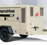 United Rentall air compressor