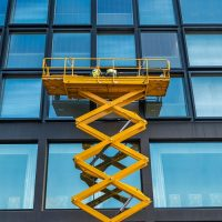 Scissor Lift Office Block